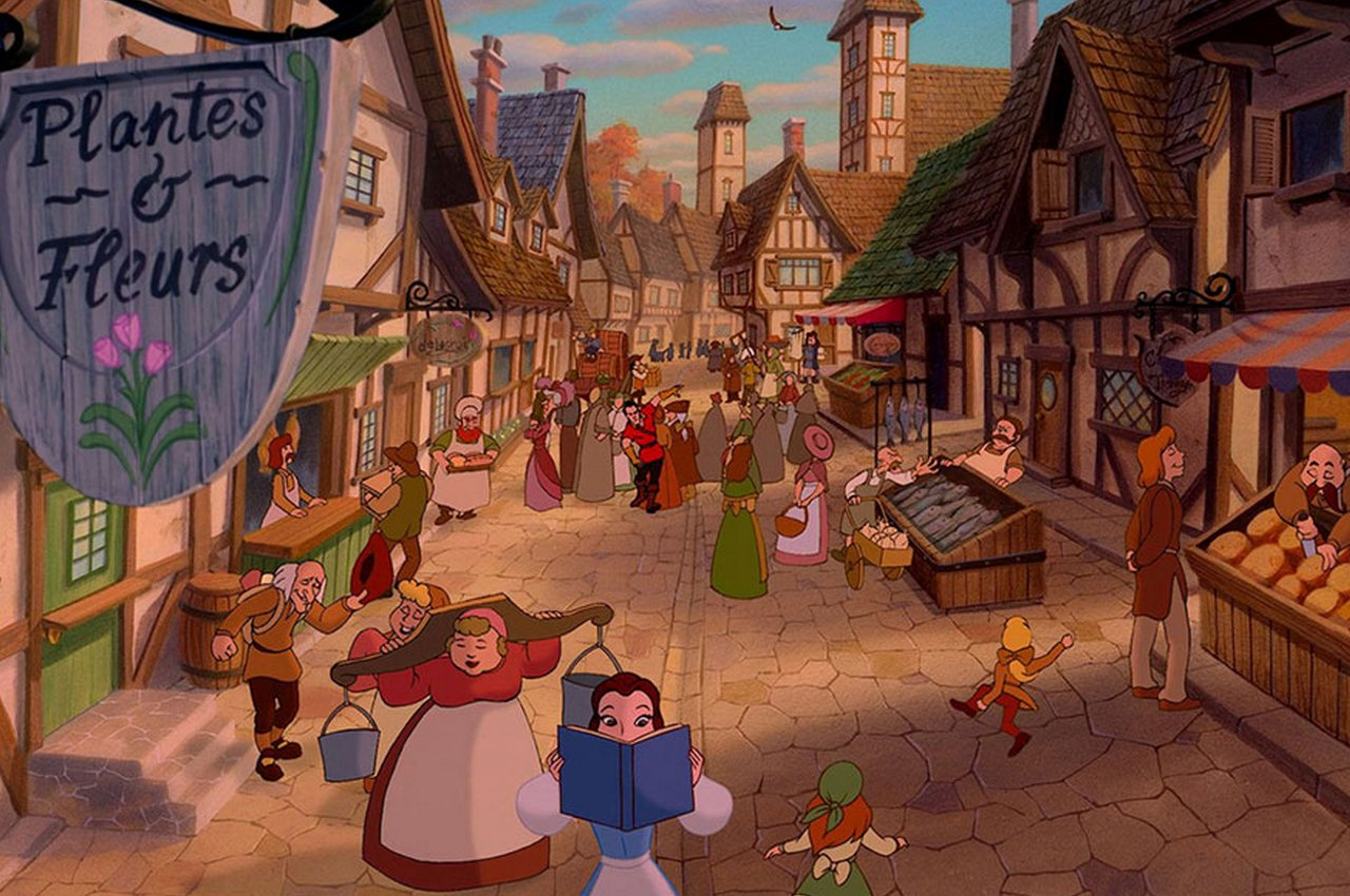 Beauty and the Beast – Alsace, France1