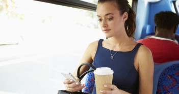 coffee in bus